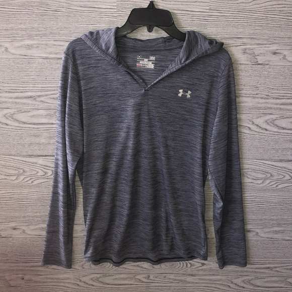 Under Armour Tops - Under Armour | Steel Gray Loose Fit Hoodie (L)